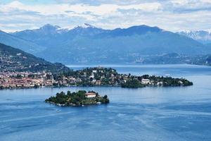 isola madre lago maggiore in italia foto