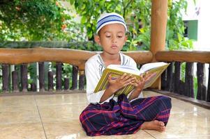 lettura del bambino foto