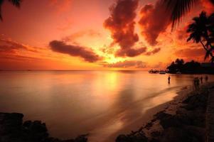 tramonto colorato