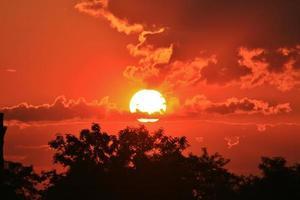 tramonto bellissimo foto