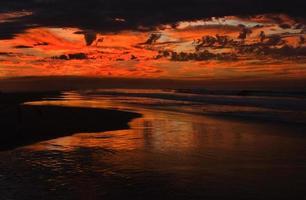 tramonto del Messico foto