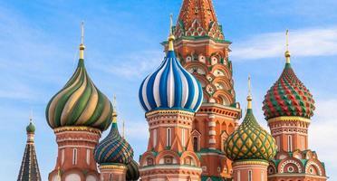 Mosca. Cattedrale di San Basilio foto