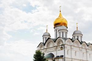 Cattedrale dell'Arcangelo a Cremlino di Mosca foto