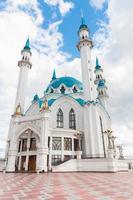 la moschea di Kul Sharif nel Cremlino di Kazan, Tatarstan, Russia foto