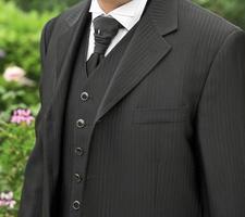 abito formale da uomo. foto