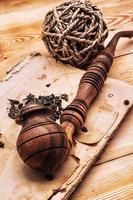 set da uomo di pipe whisky foto