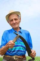 il vecchio contadino foto