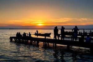 tramonto ad albufera