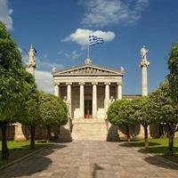 accademia di atene, grecia foto