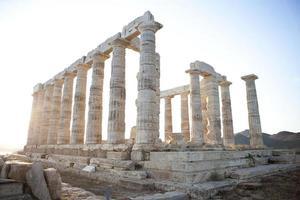 tempio di poseidon foto