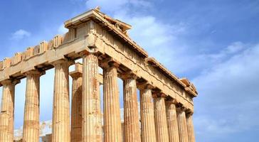 Partenone ad Atene foto