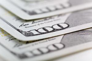 dollari di denaro foto