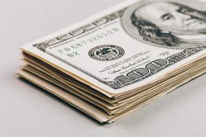 primo piano dei soldi foto