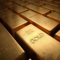 lingotti d'oro foto