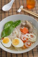 zuppa d'anatra foto
