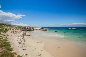 spiaggia di massi sud africa foto
