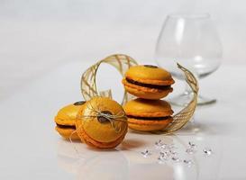 macarons allo zabaione foto