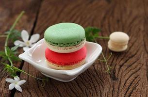 macaron multicolore. foto