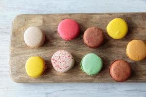 macarons francesi foto