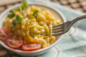 maccheroni al gomito e formaggio