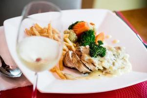 pollo al vino bianco, foto