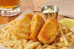 pesce e patatine foto