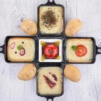 vassoio per raclette foto