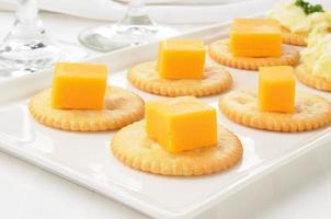 formaggio e cracker