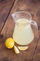 limonata fatta in casa foto