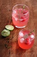 cocktail di lamponi