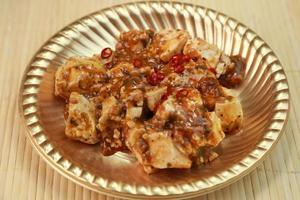 mapo tofu foto
