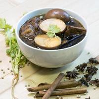 cibo tailandese chiamato pa lo, pha-lo, phalo