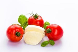 mozzarella di tomate foto