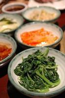 contorni coreani foto