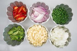ingredienti alimentari tailandesi foto