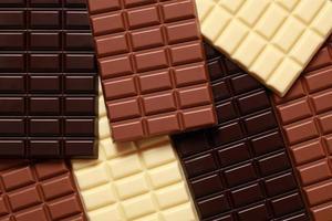 raccolta di cioccolatini foto
