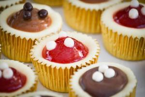 mini cheesecakes foto