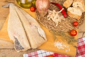 cucinare baccalà foto