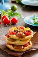 crostata al pomodoro. foto