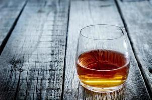 bicchiere di cognac foto