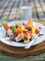insalata di melone foto