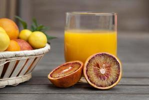 succo d'arancia foto