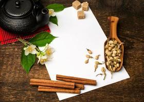 ricetta del tè asiatico foto