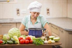 cuoco ragazza foto