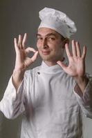 chef soddisfatto foto