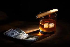 whisky e sigari
