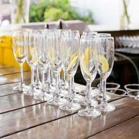 bicchiere da cocktail vuoto
