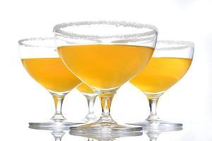colpo dello studio della bevanda della margarita foto