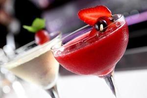 cocktail di frutta foto