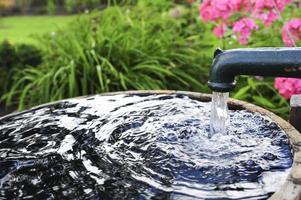 pompa dell'acqua foto